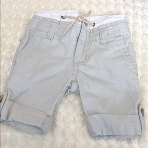Janie and jack twill shorts